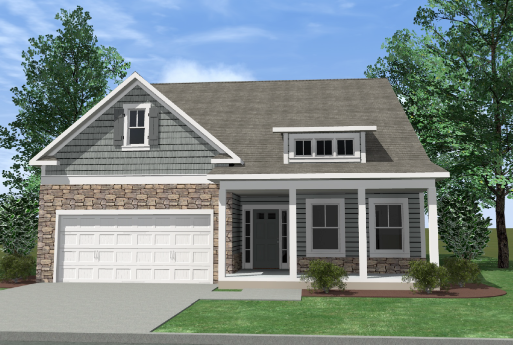 Stonewall farms trust homes for Kirkwood elevation