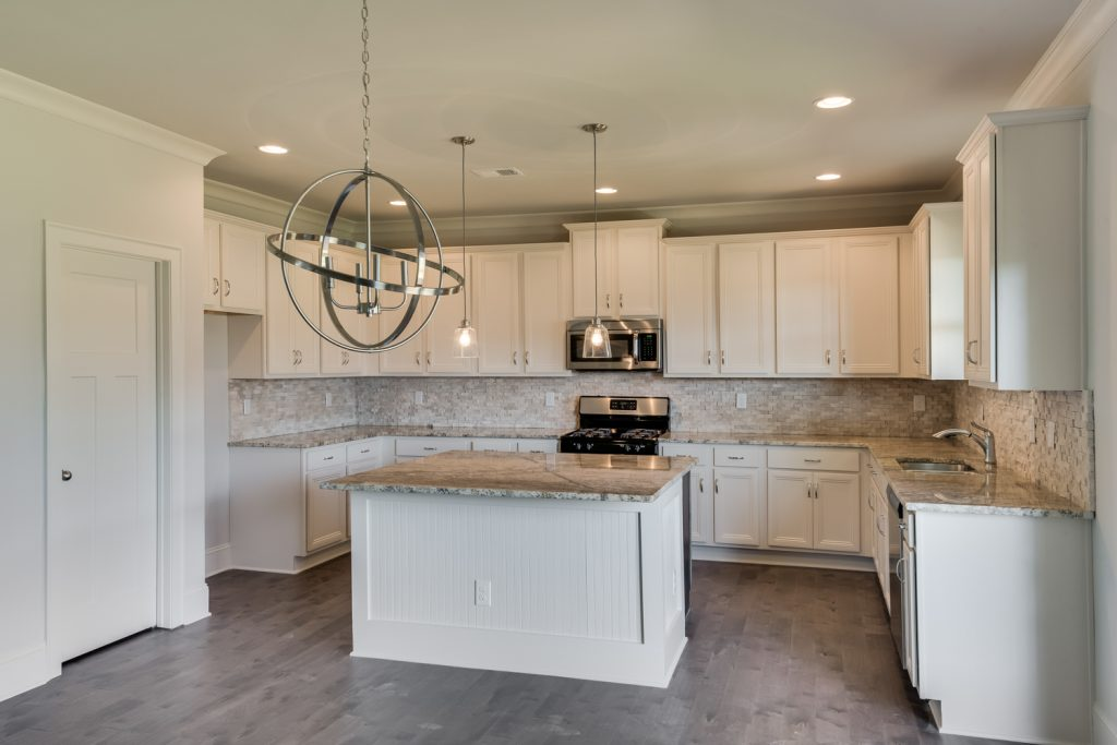 Beautiful kitchen of new home in Brock Pointe