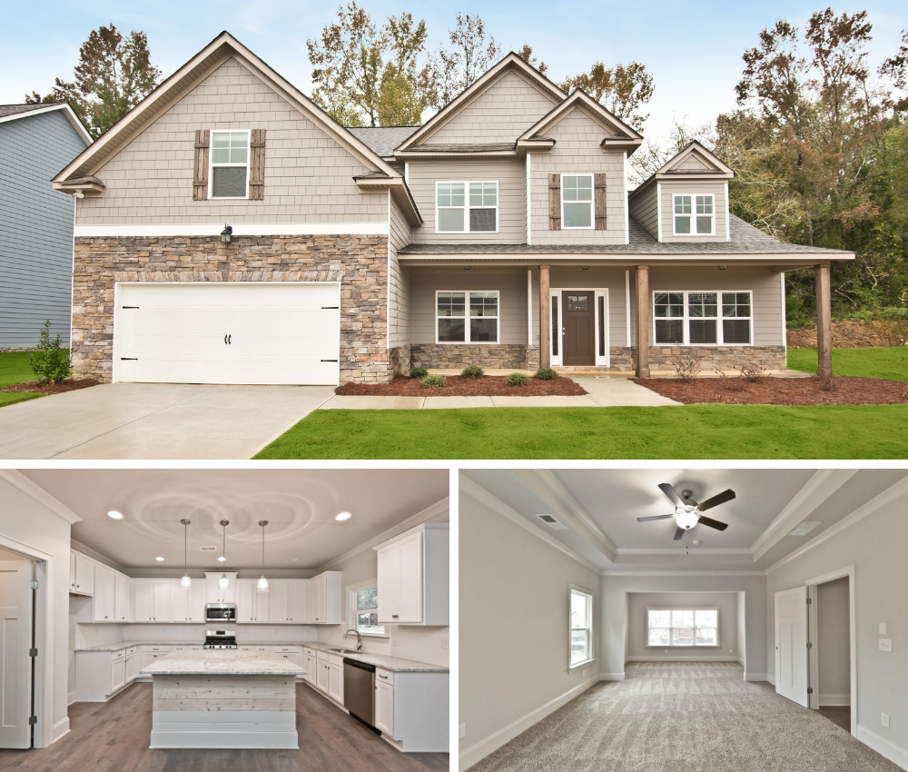The Tahoe home plan available now at Stonewall Farms in Hixson